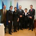 Friuli Venezia Giulia meets Romanian businesses. With His Exc. the Consul of Romania in Italy, delegates and RO fellow interpreter